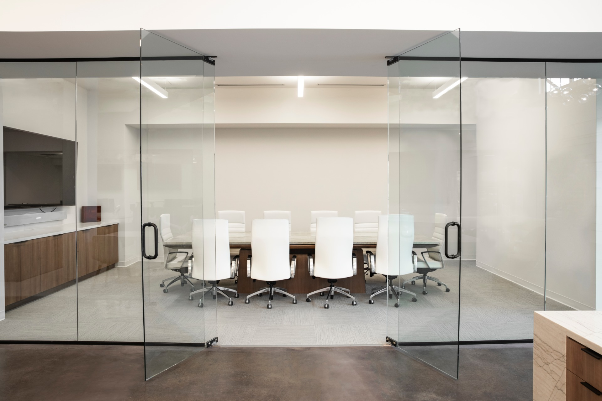 Conference room at BuildFBG's office