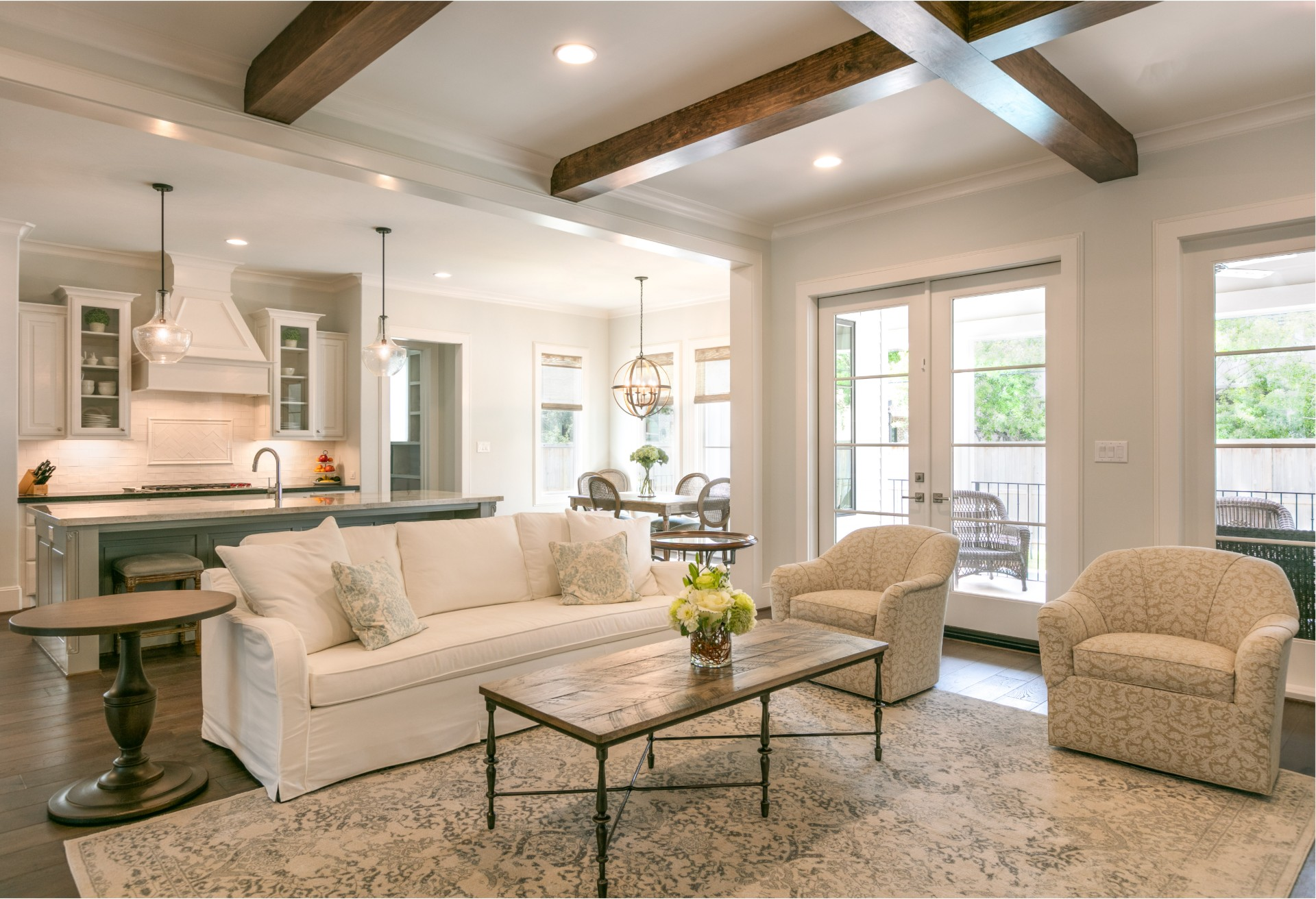 Braes Heights Transitional - Living Room - BuildFBG